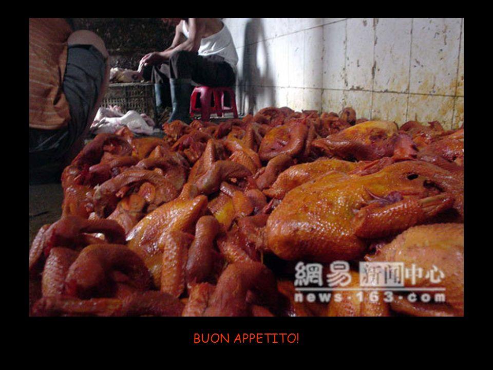 Una rosolata sopra il carbone (diossina) e il pollo è pronto ad essere commercializzato in tutto il mondo.