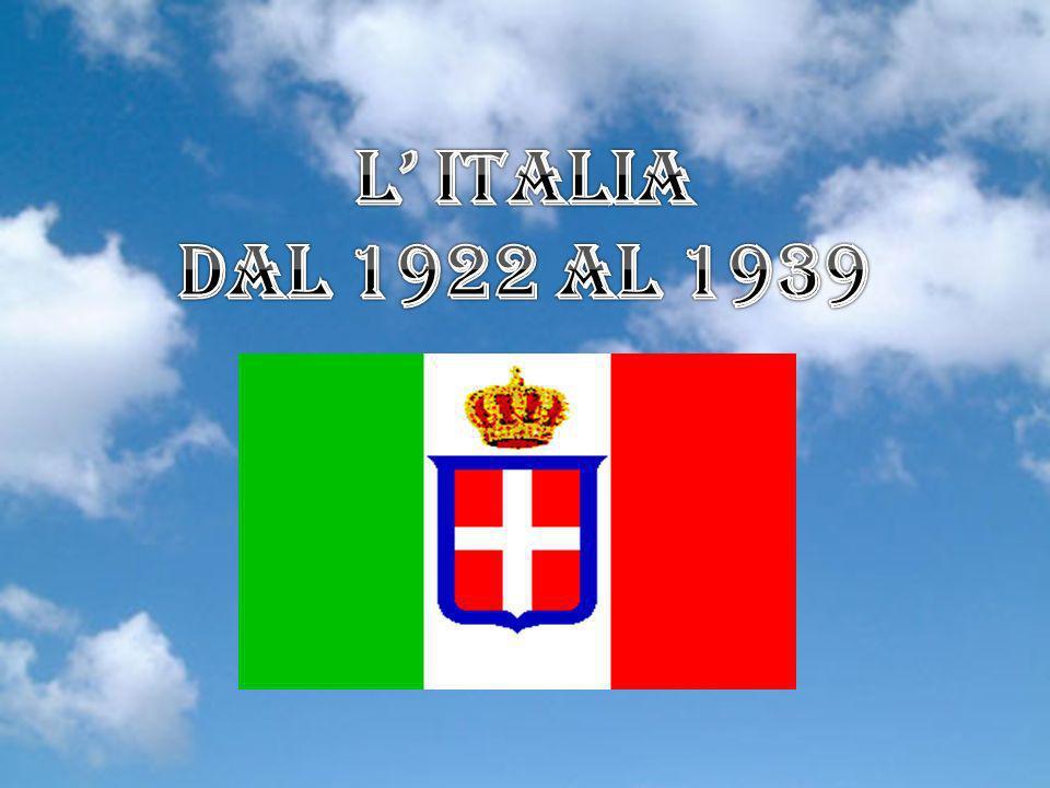 1922 dal 1922 al 1939 - Pontificato di Papa Pio XI (Ratti) 1922 ( 1 ) - Governi inetti, l Alleanza del Lavoro , Paese allo sbando 1922 ( 2 ) - Marcia su Roma - Governo Mussolini - l Italia fascista 1922 ( 3 ) - Mussolini: l indirizzo politico del PNF 1922 ( 4 ) - Mussolini: PPI, situazione, Alleanza del Lavoro 1922 ( 5 ) - Mussolini: Adunata di Udine e di Cremona 1922 ( 6 ) - Mussolini: Adunata di Milano e Napoli