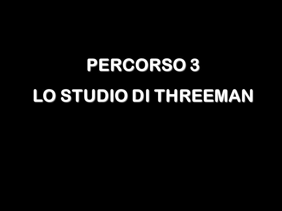 PERCORSO 3 LO STUDIO DI THREEMAN