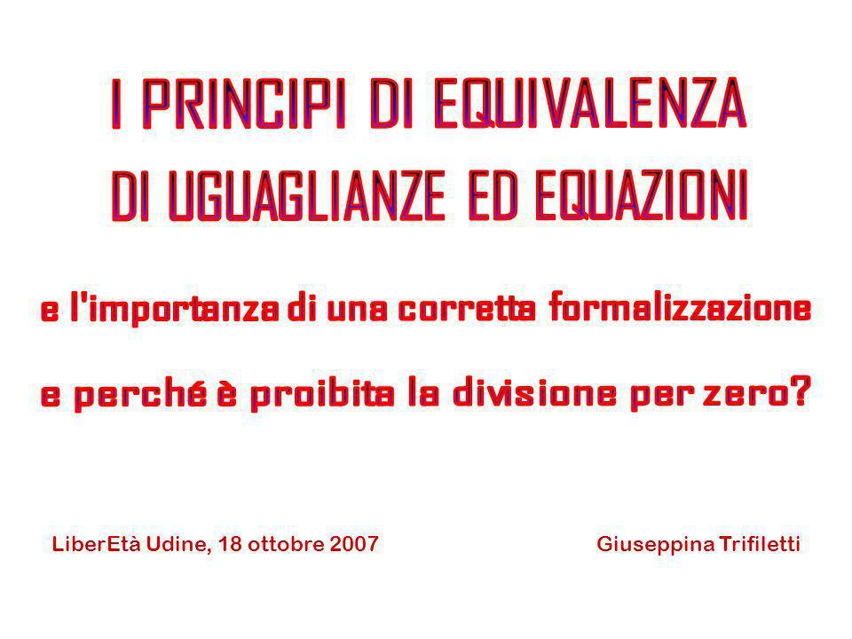 Giuseppina TrifilettiLiberEtà Udine, 18 ottobre 2007