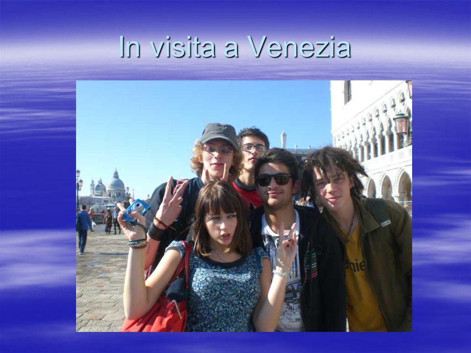 In visita a Venezia