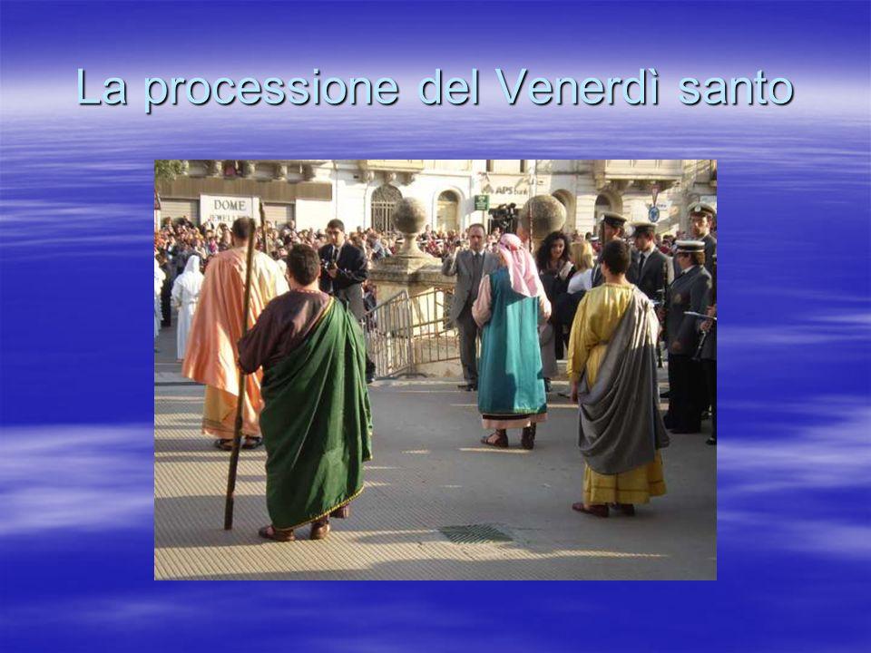 La processione del Venerdì santo