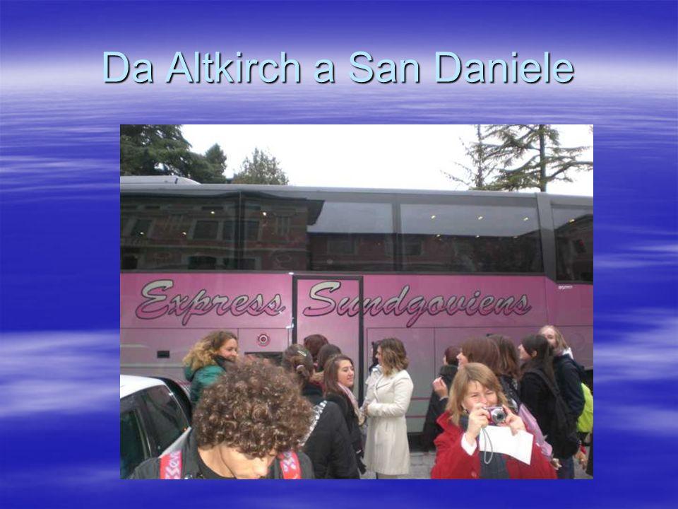 Da Altkirch a San Daniele