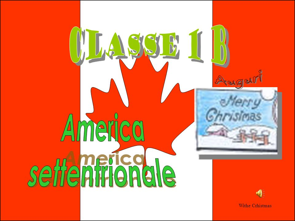 Tradizione Le celebrazioni natalizie variano grandemente tra le diverse zone dellAmerica settentrionale, dato che gli abitanti sono di origini etniche molto diverse.