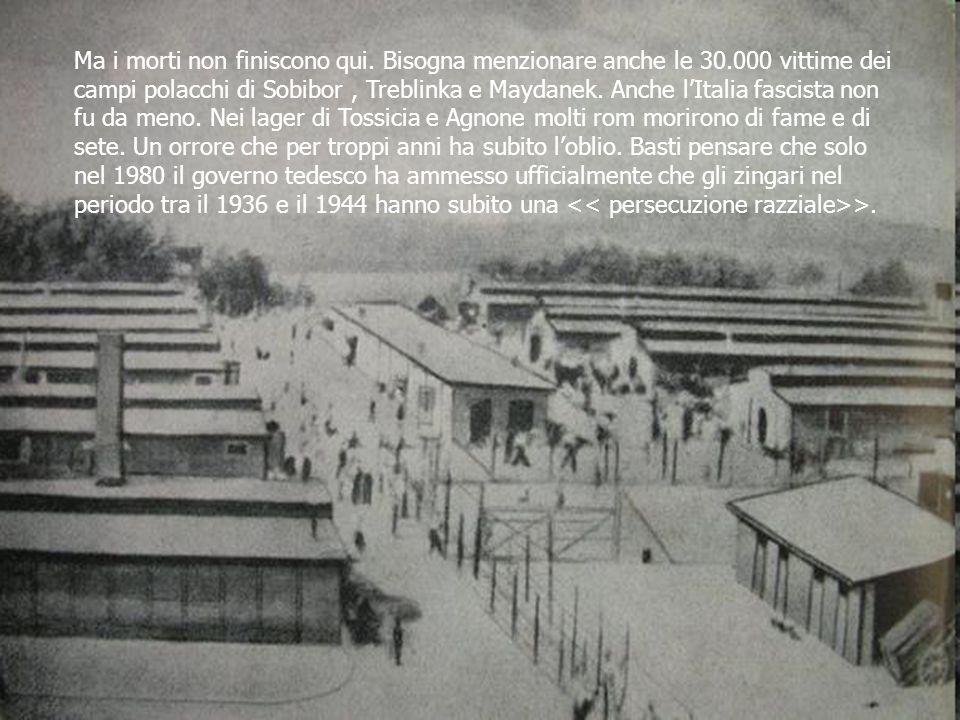 Lolocausto dei rom è avvenuto 2 volte: La prima per mano dei nazisti ; La seconda perché il loro sterminio giace nel dimenticatoio, come non fosse mai avvenuto.