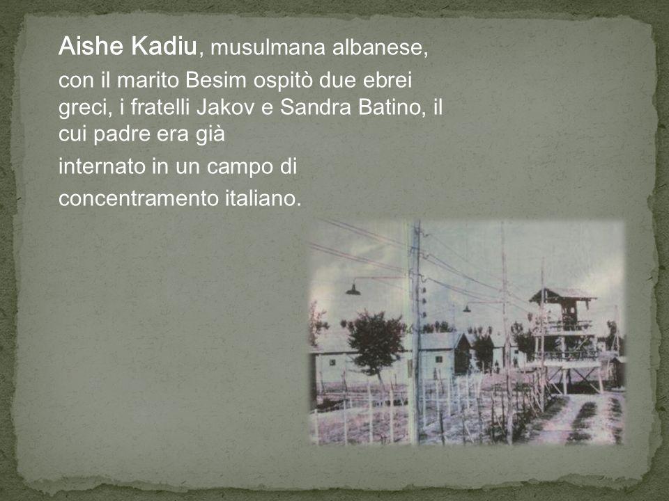 Quando arrivarono i tedeschi, Besim portò Jakov e Sandra in un remoto villaggio e la sua famiglia provvide alle loro necessità fino alla liberazione.