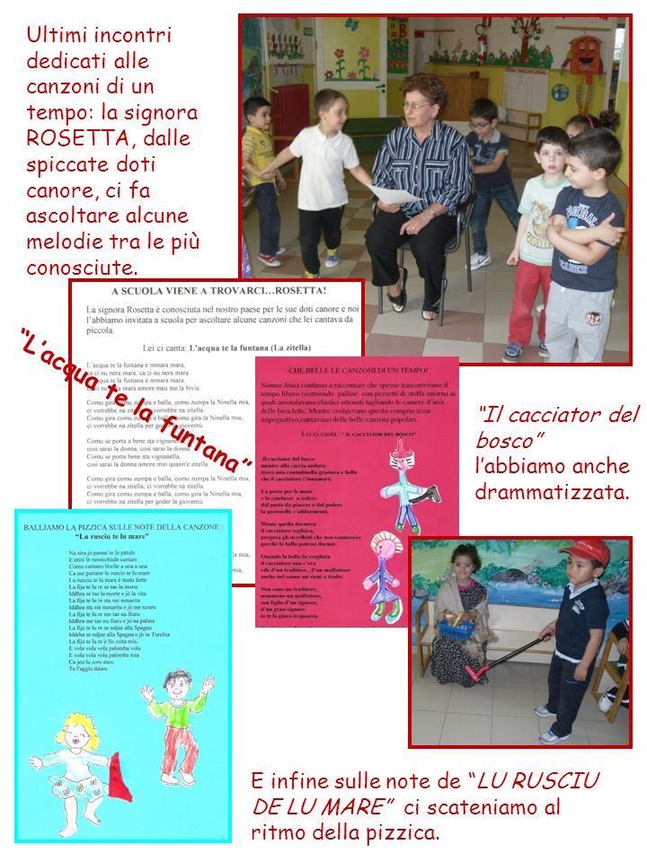24 MAGGIO 2012: incontro dedicato alla socializzazione del progetto.