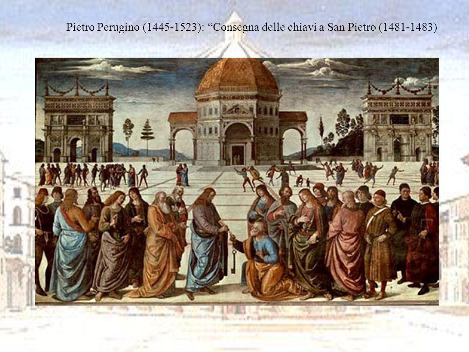 Leonardo da Vinci (1452-1519) e Donato Bramante (1444-1514) Con questi due artisti larte non è più concepita come astrusa rappresentazione di idee astratte, ma arriva ad essere uno strumento per conoscere più a fondo la realtà.