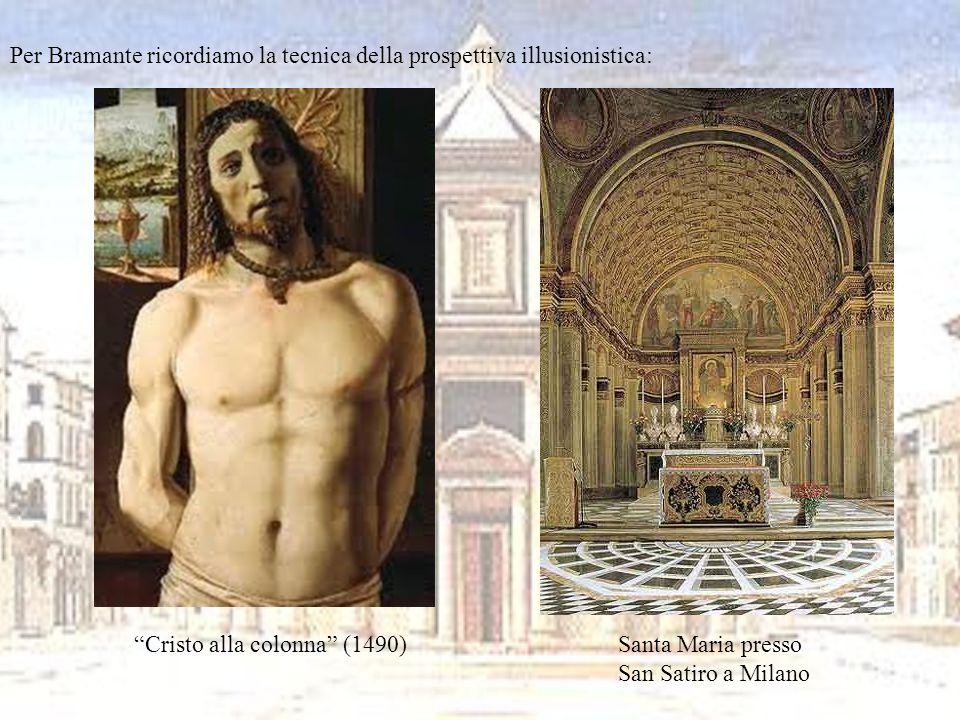 Raffaello Sanzio (1483-1520) e Michelangelo Buonarroti (1475-1564) Leonardo aveva realizzato una mirabile sintesi tra lesigenza di equilibrio e armonia e limitazione del naturale, che rimaneva sempre un poco incomprensibile per luomo.