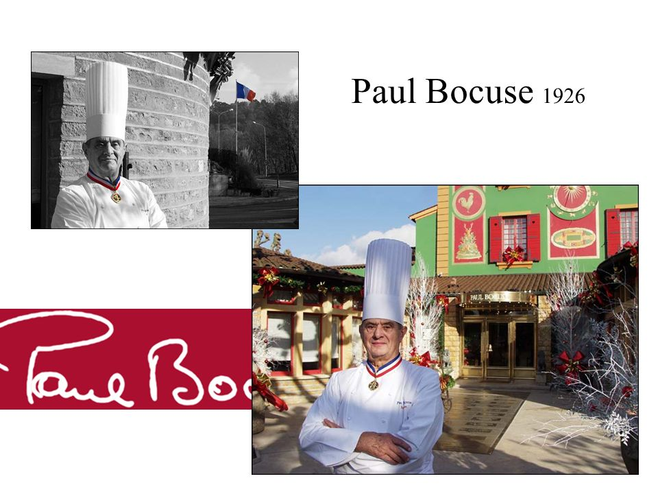Paul Bocuse 1926