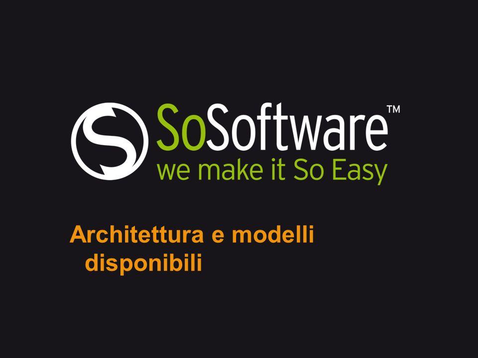 Architettura e modelli disponibili