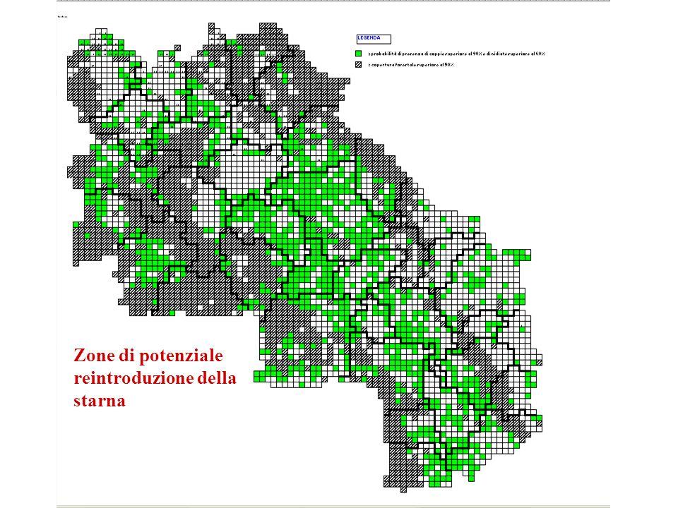 DINAMICA DELLA POPOLAZIONE DI STARNA REINTRODOTTA NELLA Z.R.C. VAL DORCIA (2.666 ettari) SIENA
