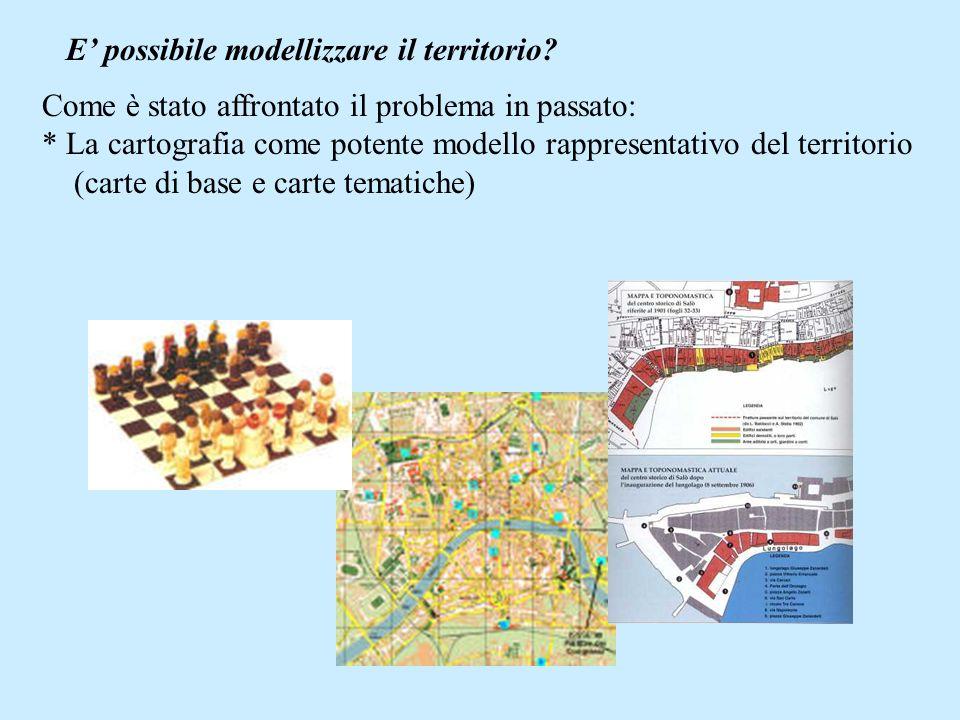 E possibile modellizzare il territorio.