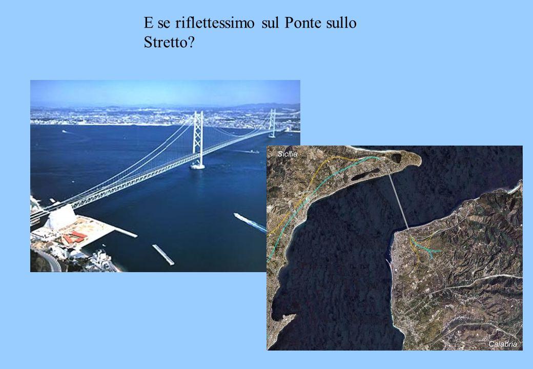 E se riflettessimo sul Ponte sullo Stretto?