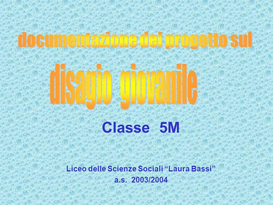 Classe 5M Liceo delle Scienze Sociali Laura Bassi a.s. 2003/2004