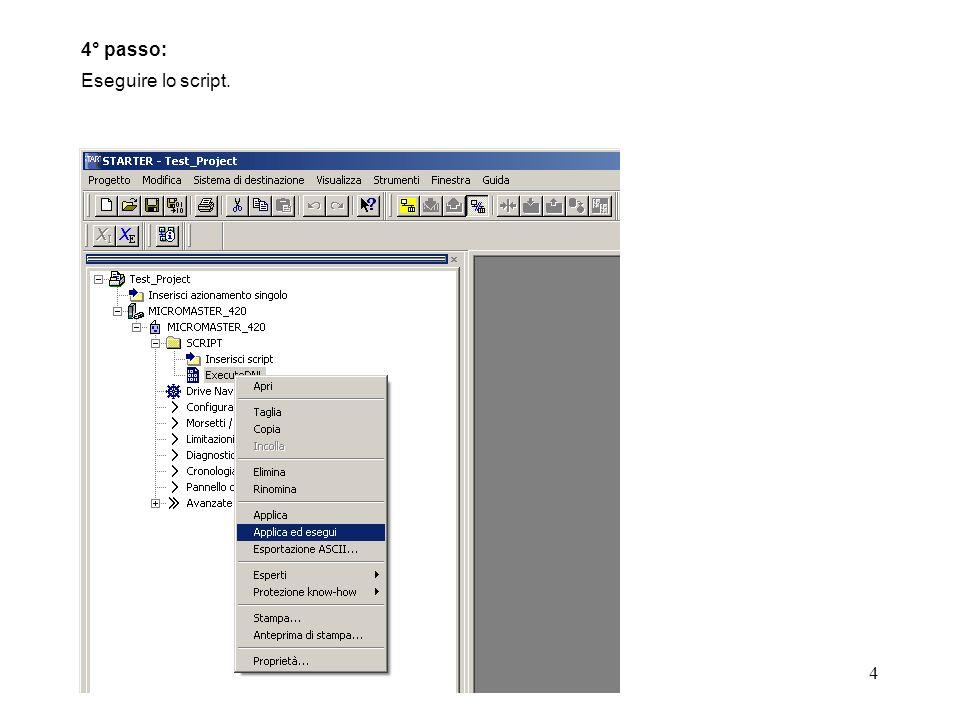 5 5° passo: Selezionare il file.dnl del MICROMASTER. Selezione del file.dnl