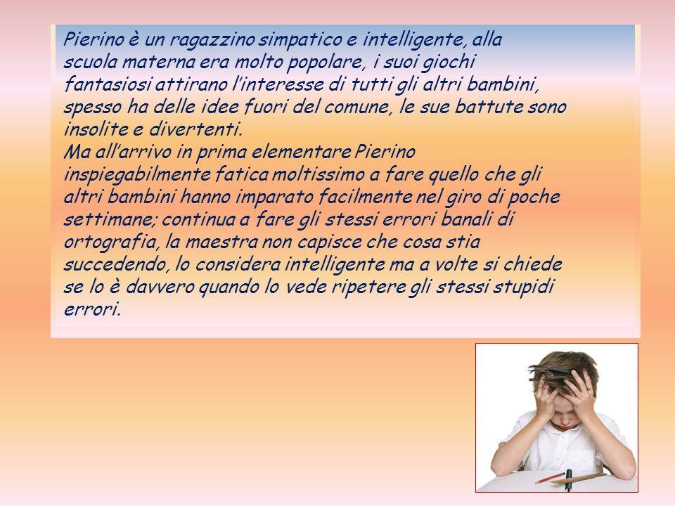 In Italia interessa circa un milione e mezzo di persone Un bambino dislessico deve essere diagnosticato il più presto possibile, essere seguito da professionisti esperti e ricevere un insegnamento adeguato da maestri e professori.