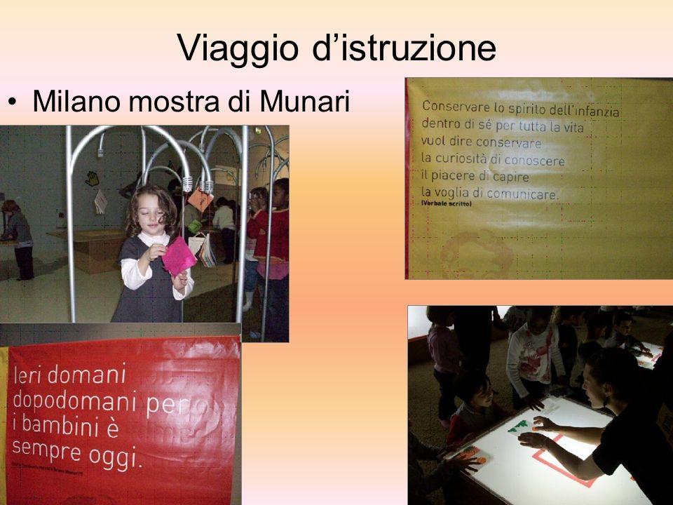 Viaggio distruzione Milano mostra di Munari