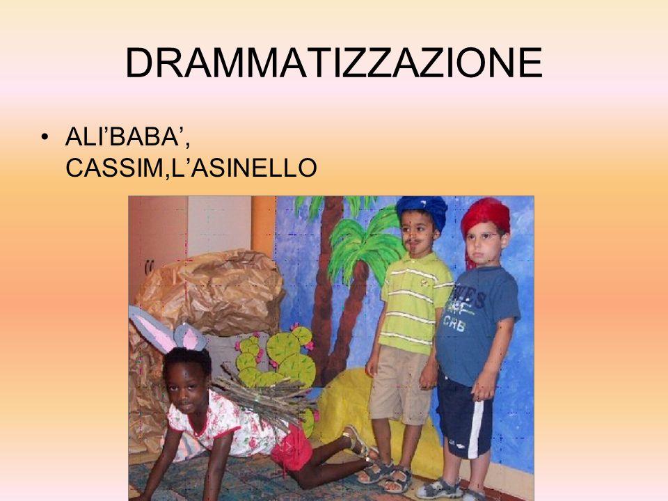 DRAMMATIZZAZIONE ALIBABA, CASSIM,LASINELLO