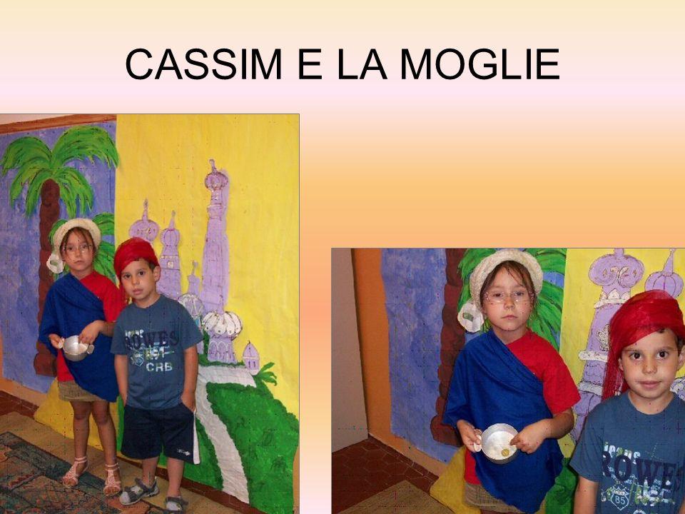 CASSIM E LA MOGLIE