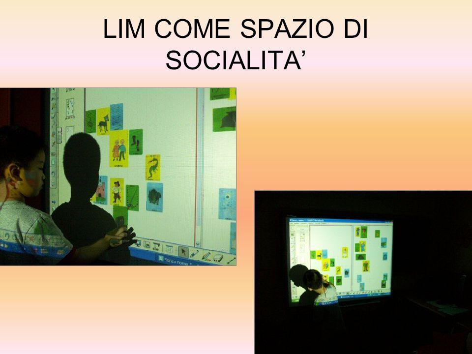 LIM COME SPAZIO DI SOCIALITA