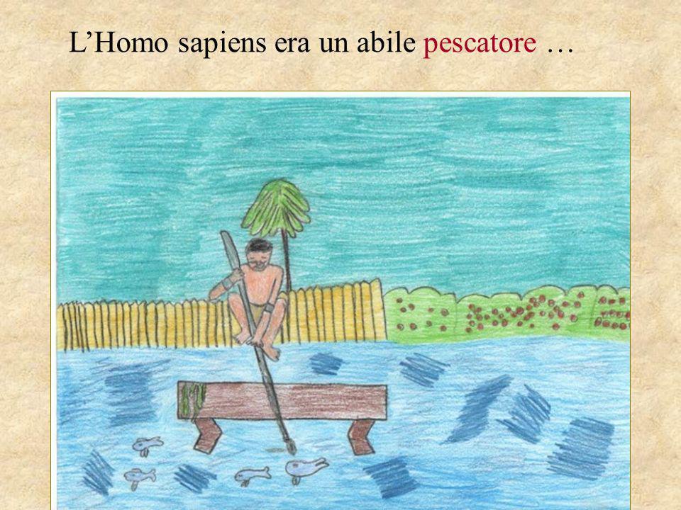 LHomo sapiens era un abile pescatore …