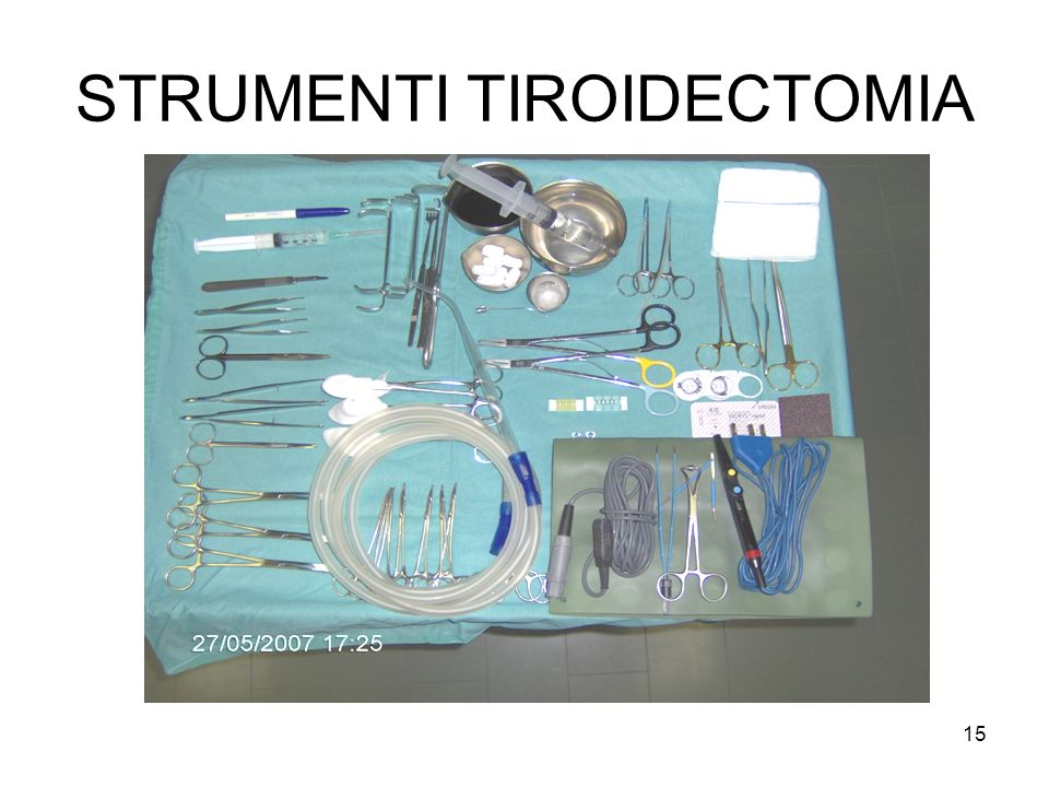 STRUMENTI TIROIDECTOMIA 15