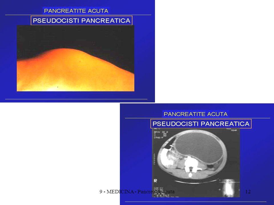 129 - MEDICINA - Pancreatite acuta