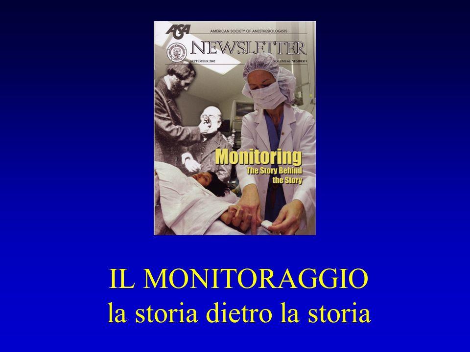 IL MONITORAGGIO la storia dietro la storia