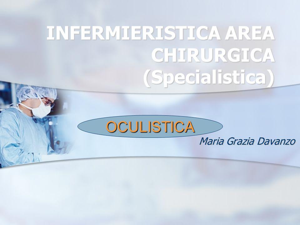 INFERMIERISTICA AREA CHIRURGICA (Specialistica) Maria Grazia Davanzo OCULISTICA
