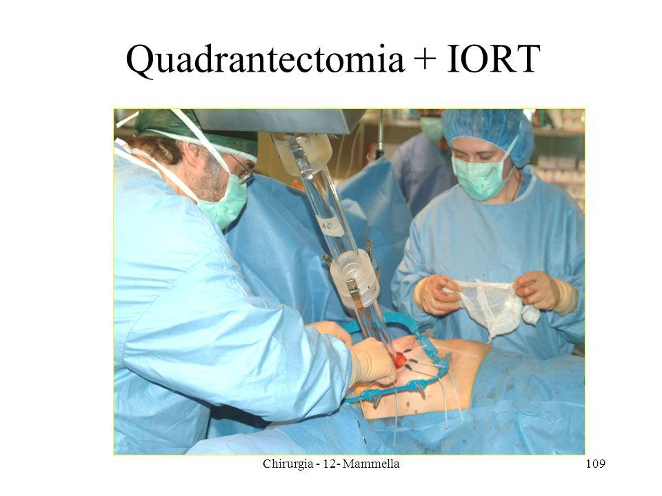 Chirurgia - 12- Mammella109 Quadrantectomia + IORT