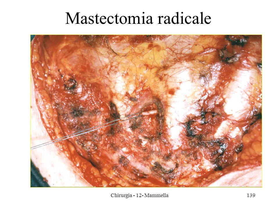 139 Mastectomia radicale