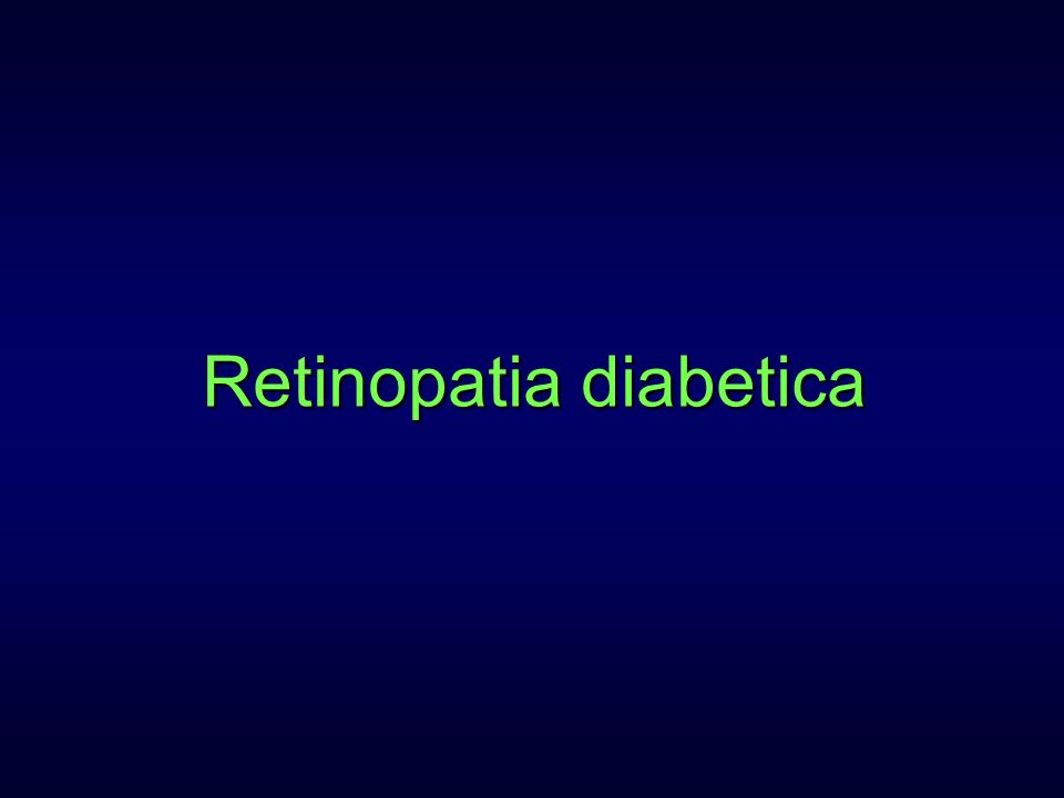 Causa principale di cecità legale nei paesi industrializzati nei soggetti di età inferiore a 50 anni Causa principale di cecità legale nei paesi industrializzati nei soggetti di età inferiore a 50 anni DM: proporzioni pandemiche entro il 2010 (239 milioni di individui nel mondo)DM: proporzioni pandemiche entro il 2010 (239 milioni di individui nel mondo) Retinopatia diabetica: epidemiologia