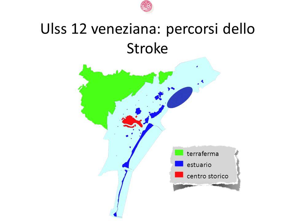 estuario terraferma centro storico Ulss 12 veneziana: percorsi dello Stroke