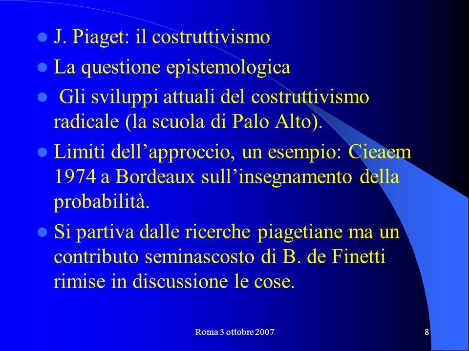 Roma 3 ottobre 20078 J.