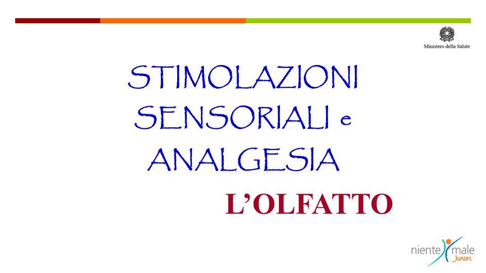 STIMOLAZIONI SENSORIALI e ANALGESIA LOLFATTO