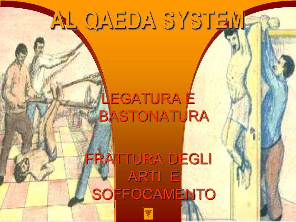LEGATURA E BASTONATURA FRATTURA DEGLI ARTI E SOFFOCAMENTO AL QAEDA SYSTEM AL QAEDA SYSTEM