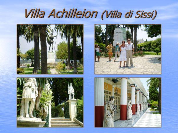 Villa Achilleion (Villa di Sissi)