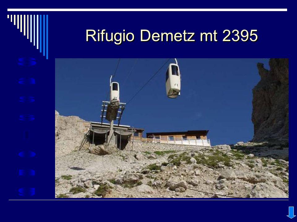 Rifugio Demetz mt 2395
