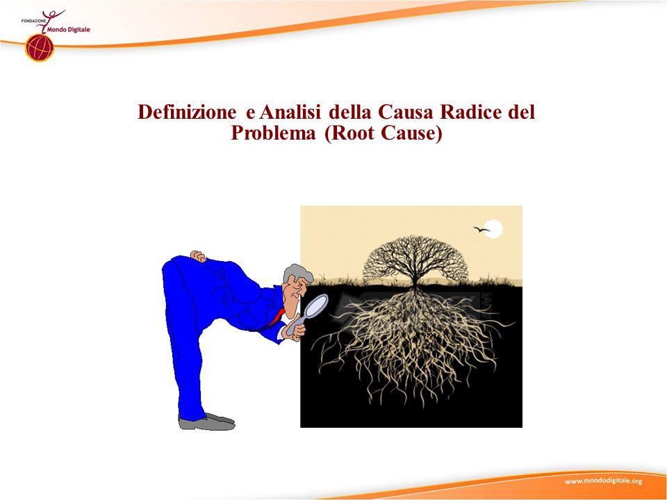 Suggerimenti Didattici (2) (II) Utilizzare il micro-modulo Definizione e Analisi della Causa Radice del Problema (Root Cause Analysis) per rafforzare e approfondire la comprensione del concetto di Definizione e Analisi della Causa Radice del Problema (Root Cause Analysis).