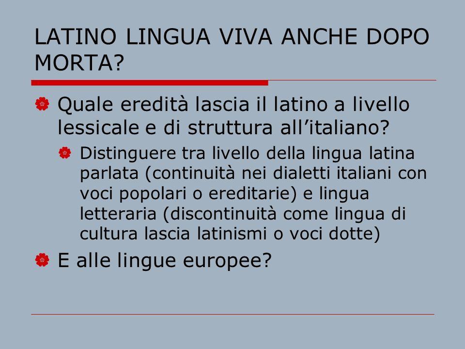 Riprendiamo i fili del discorso Scorriamo insieme alla luce del lavoro svolto nella sessione precedente multilinguistica alcune definizioni: Quale ritenete più produttiva per la prassi didattica di una lingua classica.