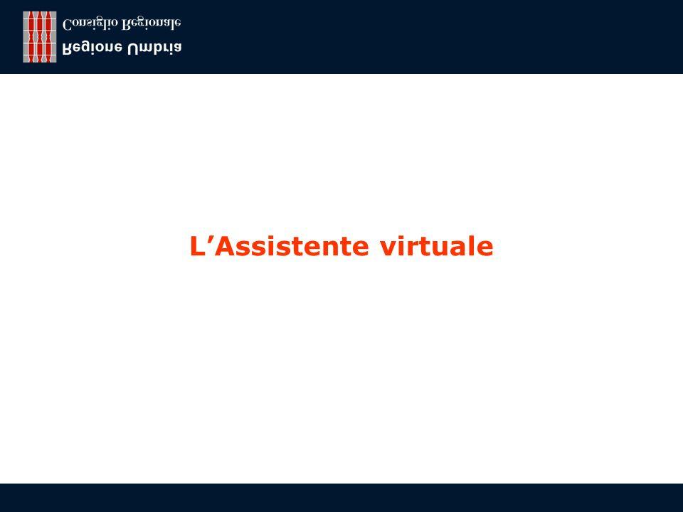 Franco Todini, Regione Umbria - Consiglio regionale 11 LAssistente virtuale
