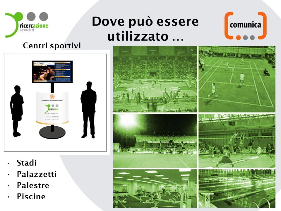 Stadi Palazzetti Palestre Piscine Centri sportivi Dove può essere utilizzato …
