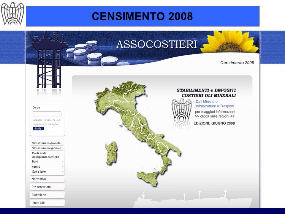 Ministero dei Trasporti – Direzione Generale dei Porti – Circolare 17/04/2008 Riparto di competenze Stato-Regioni.