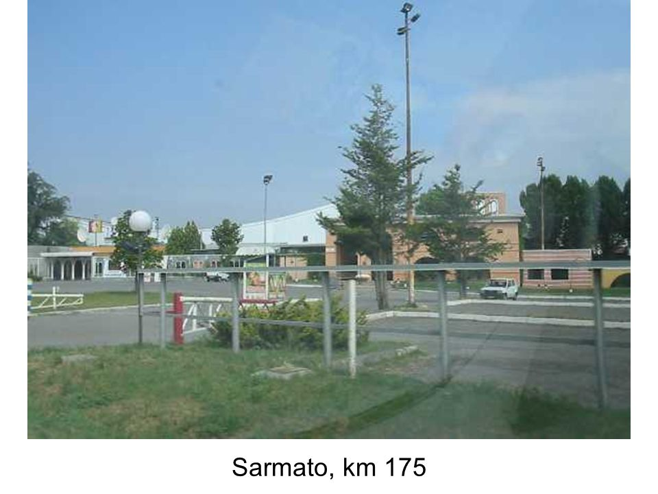 Sarmato, km 175