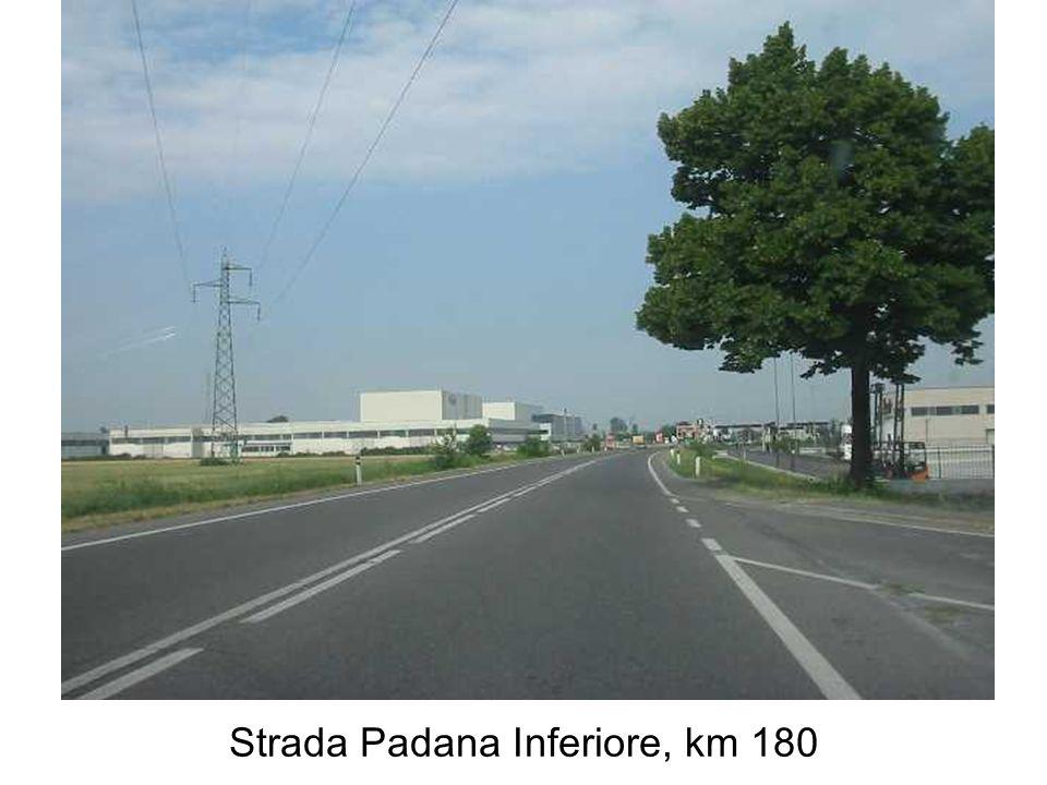 Strada Padana Inferiore, km 180