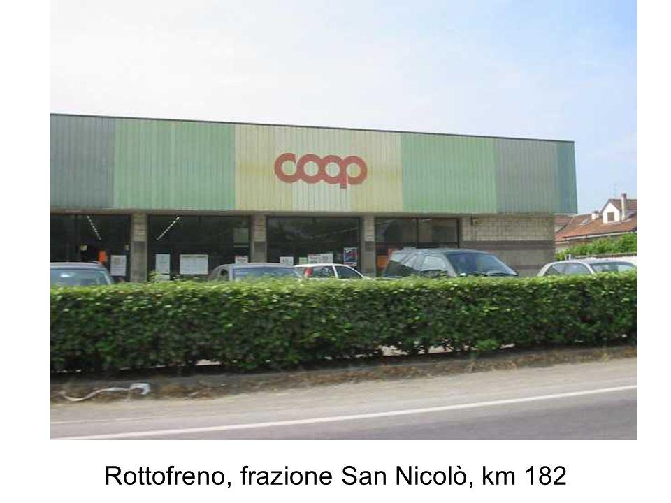 Rottofreno, frazione San Nicolò, km 182