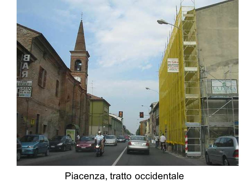 Piacenza, tratto occidentale