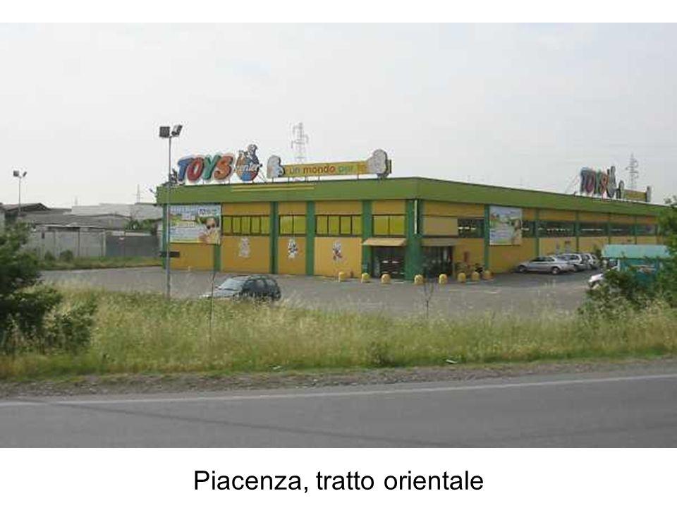 Piacenza, tratto orientale