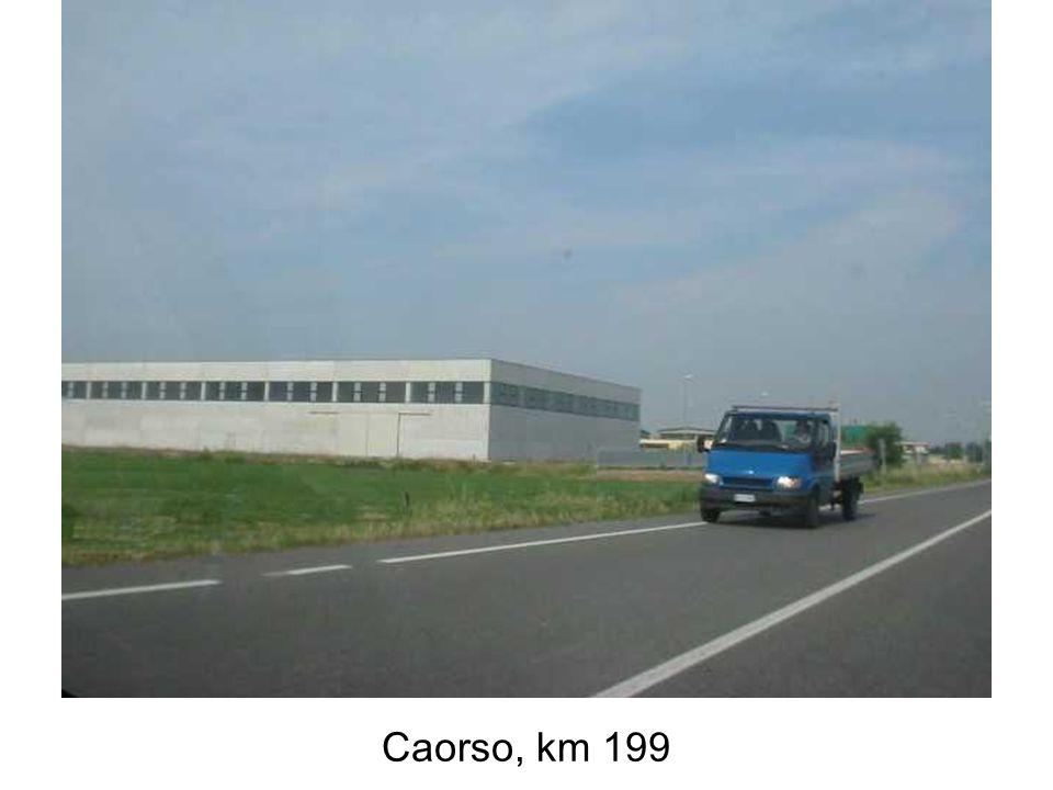 Caorso, km 199